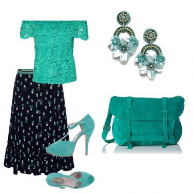Outfit Scollo a barca on tiffany