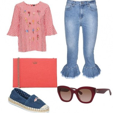 Outfit Omaggio a Kate Spade