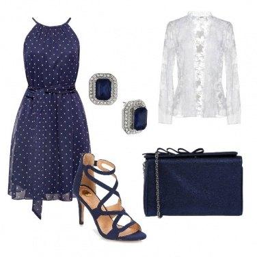 Outfit Pois e macrame