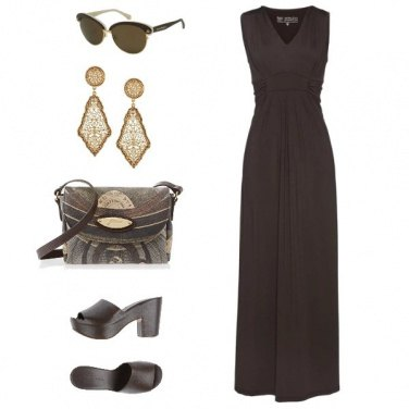 Outfit Classy Brown