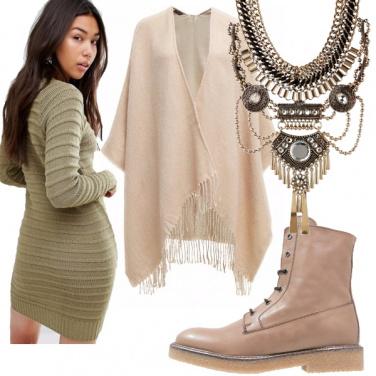 Outfit La mantella leggera