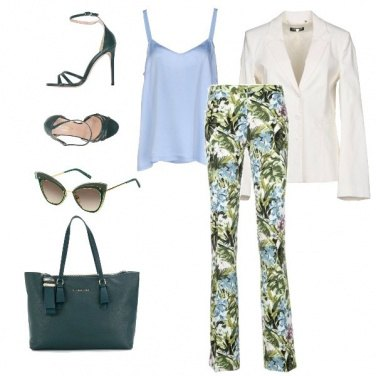 Outfit Floral Chic