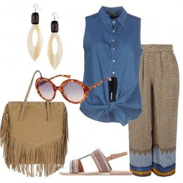 Outfit Richiami etnici in citt