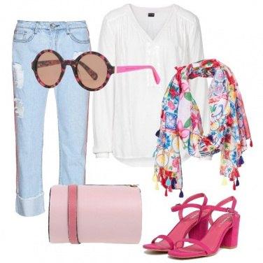 Outfit Tra freak e glamour