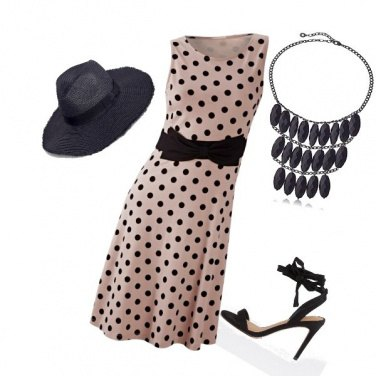 Outfit Pois chic