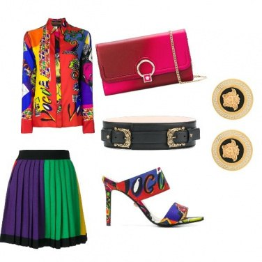 Outfit Gianni Versace Total look