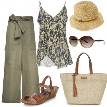 Outfit Stile coloniale