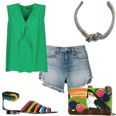 Outfit Super colorata