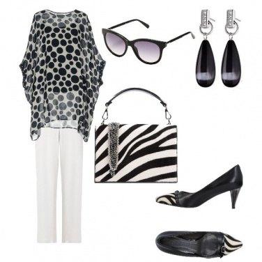 Outfit Bianco e OK con tutto