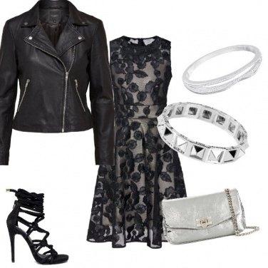 Outfit Stasera mi sento rock