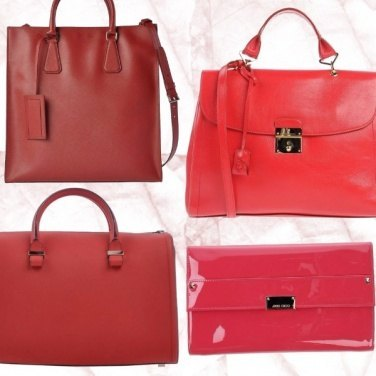 Outfit Red bags