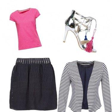 Outfit Il dettaglio rosa