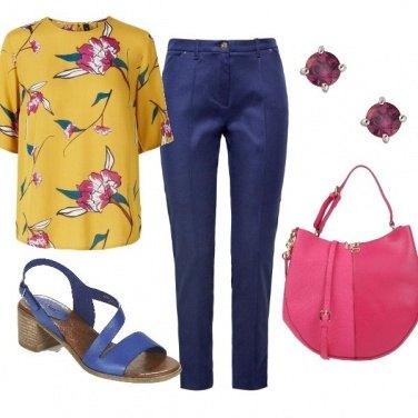 Outfit Accessori rosa