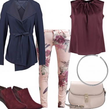 Outfit All\'insegna del merlot
