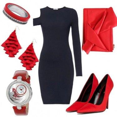 Outfit Una sera in rosso