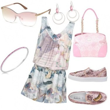 Outfit Fashion Pink