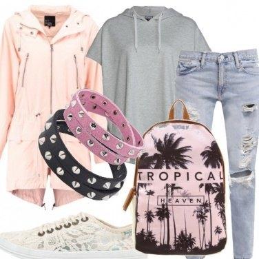 Outfit A scuola con stile