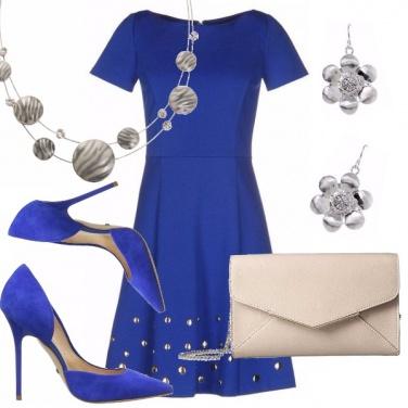 Outfit Incantevole bluette