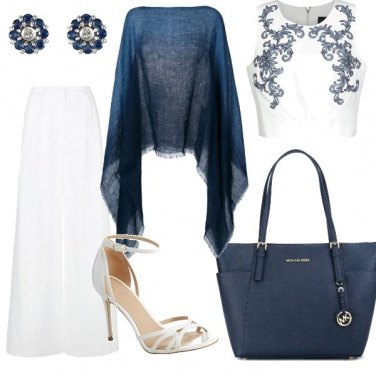 Outfit Blue and White