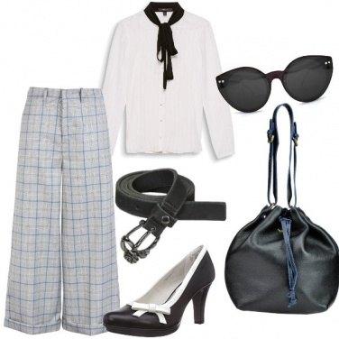 Outfit Bon ton in ufficio