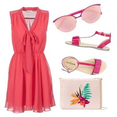 Outfit Iniziare con il rosa