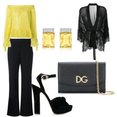 Outfit Nero chic