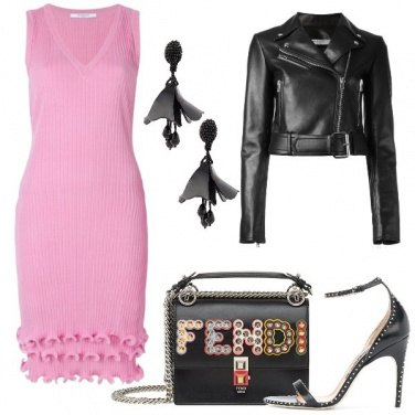 Outfit Il rosa rock