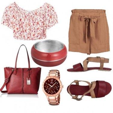 Outfit Sui toni del rosso