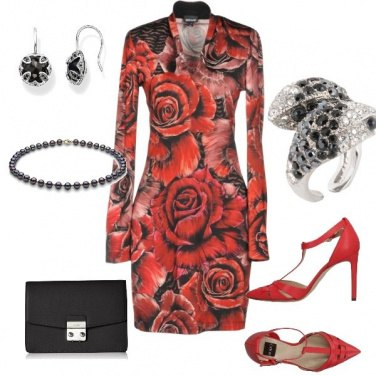 Outfit Red tango