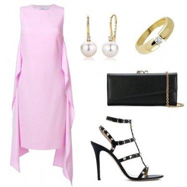 Outfit Il rosa classico tradizionale