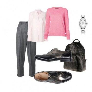 Outfit Maschile con femminilit