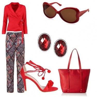 Outfit Rosso la mia passione