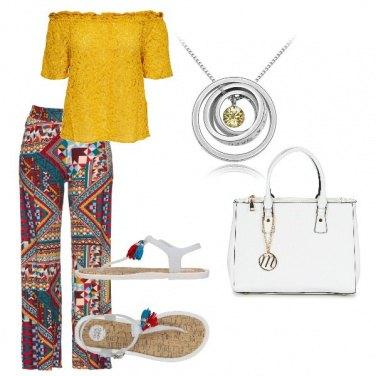 Outfit Look da festa in spiaggia