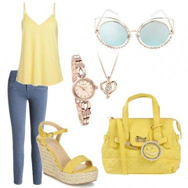 Outfit Semplice e carina