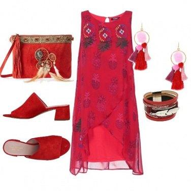 Outfit Osare il rosso