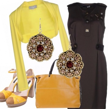 Outfit Cioccolato e limone