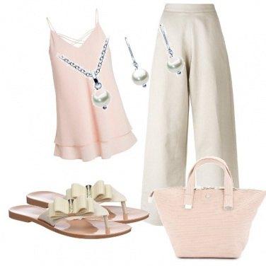 Outfit Il fiocco sul piedino