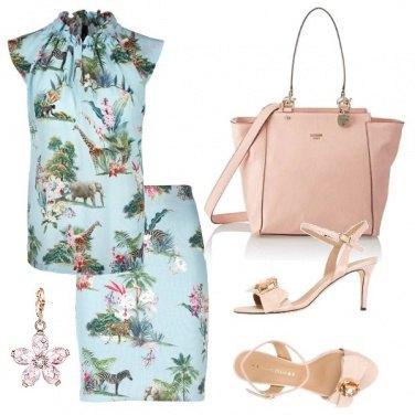 Outfit Savana, cipria e pietre