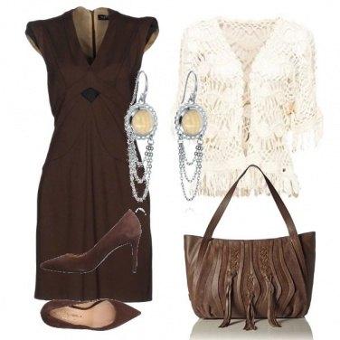 Outfit Marrone cioccolato