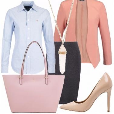 Outfit Le nuances del rosa