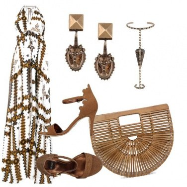 Outfit Ricordi d\'Africa