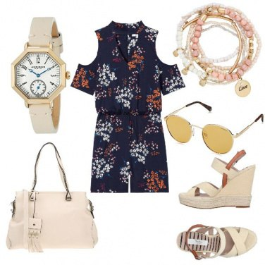 Outfit Tuta Blu