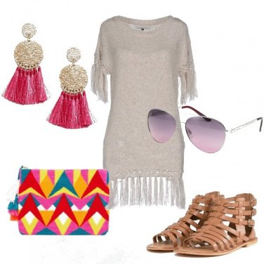 Outfit Tutto nappe e frange
