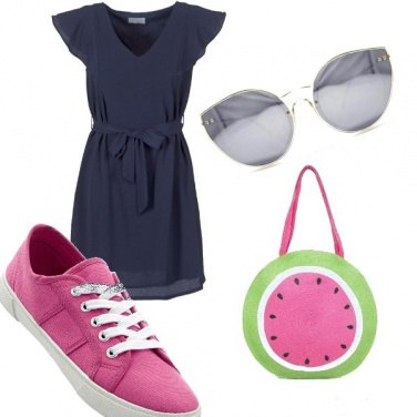 Outfit La borsa anguria