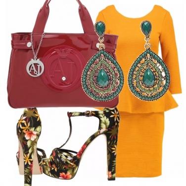 Outfit Fiore e colore