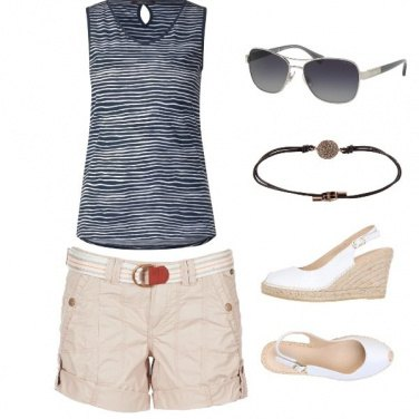 Outfit Occhiali glam