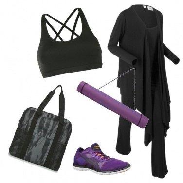 Outfit Purple details