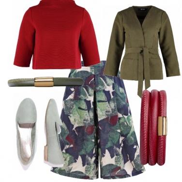 Outfit Gonna pantaloni