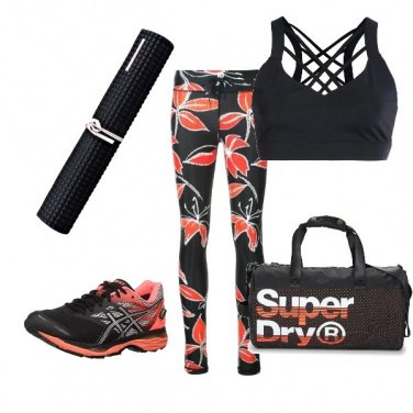 Outfit Yoga style