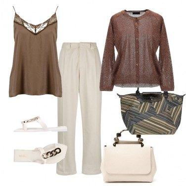 Outfit Un pantalone x due
